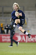 Faf De Klerk warms up during the Aviva Premiership match between Sale Sharks and Saracens at the AJ Bell Stadium, Eccles, United Kingdom on 16 February 2018. Picture by George Franks.