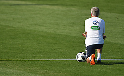 Didier Deschamps during French Team training session ahead of the FIFA World Cup 2018 on June 18, 2018 in Istra, Russia. Photo by Christian Liewig/ABACAPRESS.COM