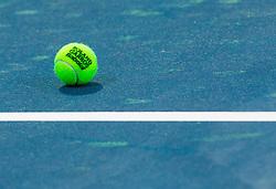 Tennis ball Babolat Roland Garros 1 day before tennis tournament ATP Challenger Tilia Slovenia Open 2013 on July 1, 2013 in SRC Marina, Portoroz / Portorose, Slovenia. (Photo by Vid Ponikvar / Sportida.com)