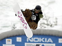 ◊Copyright:<br />GEPA pictures<br />◊Photographer:<br />Mario Kneissl<br />◊Name:<br />Kongsgaard<br />◊Rubric:<br />Sport<br />◊Type:<br />Snowboard<br />◊Event:<br />FIS WM 2005 Whistler Mountain, Big Air<br />◊Site:<br />Whistler Mountain, Kanada<br />◊Date:<br />22/01/05<br />◊Description:<br />Anne-Molin Kongsgaard (NOR)<br />◊Archive:<br />DCSKN-2201054319<br />◊RegDate:<br />23.01.2005<br />◊Note:<br />9 MB - WU/WU - Nutzungshinweis: Es gelten unsere Allgemeinen Geschaeftsbedingungen (AGB) bzw. Sondervereinbarungen in schriftlicher Form. Die AGB finden Sie auf www.GEPA-pictures.com.<br />Use of picture only according to written agreements or to our business terms as shown on our website www.GEPA-pictures.com.