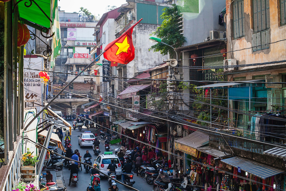 Hanoi, Vietnam. December 2014.