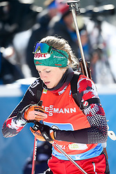 Hauser Lisa Theresa of Austria competes during the IBU World Championships Biathlon 4x6km Relay Women competition on February 20, 2021 in Pokljuka, Slovenia. Photo by Vid Ponikvar / Sportida