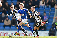 Chesterfield defender Sam Hird (4) during the EFL Sky Bet League 2 match between Chesterfield and Notts County at the b2net stadium, Chesterfield, England on 25 March 2018. Picture by Jon Hobley.