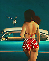 Art painting in a retro style of a girl and a classic car can bring a lot of nostalgia and joy to anyone who understands the beauty of color. A well-painted wall can brighten up a room in any age, and many people love to hang art in this style because of all the bright colors and the beautiful landscapes that you can see through these paints. There is a lot of variety to choose from when it comes to art painting in a retro style, and there are tons of different options to choose from, whether you want to have an abstract canvas in a classic car or a painting of a girl in a bikini. It is really up to you.<br /> <br /> This kind of art painting can also bring back good memories for many people, and if you look at some of the famous artists who have created art in this style, you can start to see why this is so popular. Andy Warhol is one of the most famous artists who has done this style of art, and you can even find reproductions of his work around your house or office. If you are looking for a really nice abstract art piece, you might even consider having it framed and hanging on your wall in a room with a more traditional style of furnishings. You can also find many more pieces of art to decorate your wall in a Fifties style all at once.<br /> <br /> If you are interested in doing something in this style, then you might want to learn a little bit about how to do it yourself so that you don't have to pay a professional to help you out. Art painting in a retro style of a girl and a classic car is certainly not hard to do if you have the right techniques. Just like anything else, once you know the proper technique, it doesn't take long before you can create some really great art pieces on your own. If you want to find out more tips for decorating your walls in a fashion that will be a bit different from what you might have seen in a gallery or at a school, then you might want to keep reading.