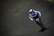 #53 (PRIES Nadja) GER at the 2013 UCI BMX Supercross World Cup in Chula Vista