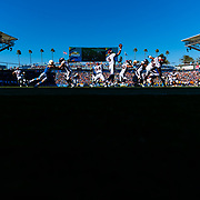 LOS ANGELES, CA - OCTOBER 06: Denver Broncos quarterback Joe Flacco (5) throws during the NFL regular season football game against the Los Angeles Chargers on Sunday, Oct. 6, 2019 at Dignity Health Sports Park in Carson, Calif. (Photo by Ric Tapia/Icon Sportswire)