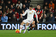 Bournemouth v Manchester United 121215