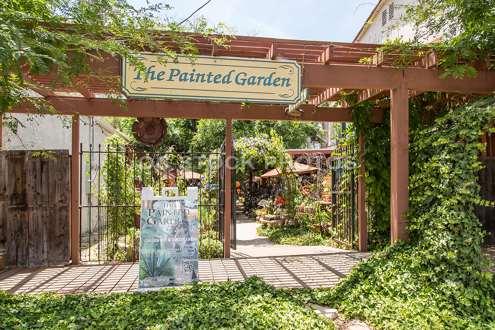 The Painted Garden in Old Town Temecula