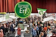 Nederland, Zwolle, 22-1-2020 In de IJsselhallen wordt de Biobeurs gehouden. een beurs op het gebied van biologisch en duurzaam geproduceerd voedsel en voedselproductie. FOTO: FLIP FRANSSEN