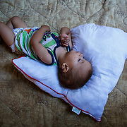 One of the youngest residents of Ritsona Refugee Camp, Greece, July 2016.