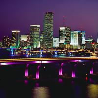City of Miami Skyline, December, 1999.