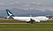 B-LIE Cathay Pacific Boeing 747-467F(ER) Cargo at Milan - Malpensa (MXP / LIMC) at Malpensa (MXP / LIMC), Milan, Italy