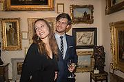 CHARLES ROBINSON; BEATRIX SARTIRANA, The preview of LAPADA Art and Antiques Fair. Berkeley Sq. London. 21 September 2015.