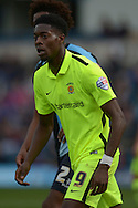Rakish Bingham of Hartlepool United looking on. Skybet football league two match, Wycombe Wanderers v Hartlepool Utd at Adams Park in High Wycombe, Bucks on Saturday 5th Sept 2015.<br /> pic by John Patrick Fletcher, Andrew Orchard sports photography.