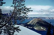 CS00874-13. Crater Lake, September 1961
