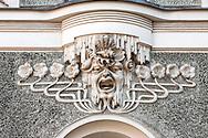 Art Nouveau detail in Riga, Latvia © Rudolf Abraham