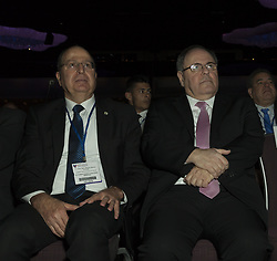 May 7, 2017 - New York, New York, United States - Moshe Yaalon, Dani Dayan attend at 6th Annual Jerusalem Post conference in New York (Credit Image: © Lev Radin/Pacific Press via ZUMA Wire)
