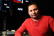 Ronald Pulk, talk show host and reporter on state broadcasting's only Sami television station, thrives on the diverse stories of everyday Sami people.