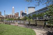 Cleveland, Ohio daytime skyline