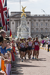 August 13, 2017 - London, United Kingdom - Men 20 K Race Walk at IAAF World Championships in London, UK on August 13, 2017. The race took place on The Mall, most picturesque street of London and attracted thousands spectators. (Credit Image: © Dominika Zarzycka/NurPhoto via ZUMA Press)