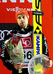 11.12.2016, Lysgards Schanze, Lillehammer, NOR, FIS Weltcup Ski Sprung, Lillehammer, im Bild Markus Eisenbichler (GER, 3. Platz) // 3rd placed Markus Eisenbichler of Germany // during Mens Skijumping of FIS Skijumping World Cup at the Lysgards Schanze in Lillehammer, Norway on 2016/12/11. EXPA Pictures © 2016, PhotoCredit: EXPA/ Tadeusz Mieczynski