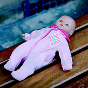 Abandoned baby doll, Stratford Upon Avon, England (March 2007)
