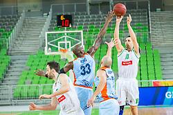 Domen Lorbek of Petrol Olimpija during basketball match between KK Petrol Olimpija and KK Sixt Primorska in Playoffs of Liga Nova KBM, on March 30, 2018 in Arena Stozice, Ljubljana, Slovenia. Photo by Ziga Zupan / Sportida