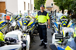Police officer during the 4th Stage of 27th Tour of Slovenia 2021 cycling race between Ajdovscina and Nova Gorica (164,1 km), on June 12, 2021 in Ajdovscina - Nova Gorica, Ajdovscina - Nova Gorica, Slovenia. Photo by Vid Ponikvar / Sportida