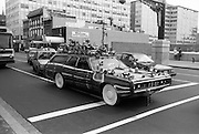 7th and H Street, Chinatown, Washington DC, 1987<br /> An early example of a visionary art car.