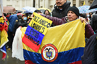 Myanmar protest and march starting at London  Lancaster house  photo by Krisztian  Elek