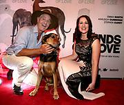 Nigel Spencer Lou New Zealand Huntsaway Maggie Meyer at screening of <br />Hounds of Love Photo Bohdan Warchomij