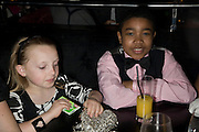 ANNIE EDWARDS AND RUSSELL ROGER, INTO THE HOODS - a hip hop dance musical -opening  at the Novello Theatre on The Aldwych. After- party at TAMARAI at 167 Drury Lane, London. 27 March 2008.   *** Local Caption *** -DO NOT ARCHIVE-© Copyright Photograph by Dafydd Jones. 248 Clapham Rd. London SW9 0PZ. Tel 0207 820 0771. www.dafjones.com.