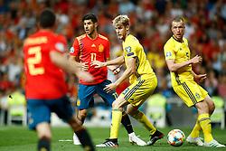 June 10, 2019 - Madrid, MADRID, SPAIN - Filip Helander of Sweden during the 2020 UEFA European Championships group F, European Qualifiers, played between Spain and Sweden at Santiago Bernabeu Stadium in Madrid, Spain, on June 10, 2019. (Credit Image: © AFP7 via ZUMA Wire)