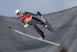 Aleksandr Bazhenov (RUS) during Ski Flying Hill Men's Team Competition at Day 3 of FIS Ski Jumping World Cup Final 2017, on March 25, 2017 in Planica, Slovenia. Photo by Vid Ponikvar / Sportida