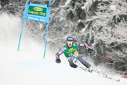 Ted Ligety of USA competes during 1st run of Men's GiantSlalom race of FIS Alpine Ski World Cup 57th Vitranc Cup 2018, on March 3, 2018 in Kranjska Gora, Slovenia. Photo by Ziga Zupan / Sportida