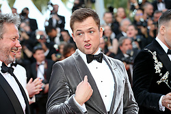 Taron Egerton attend the screening of Rocketman during the 72nd annual Cannes Film Festival on May 16, 2019 in Cannes, France Photo by Shootpix/ABACAPRESS.COM