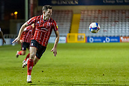 Lincoln City Midfielder Jorge Grant (10) during the EFL Sky Bet League 1 match between Lincoln City and Shrewsbury Town at Sincil Bank, Lincoln, United Kingdom on 15 December 2020.