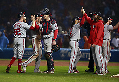 Washington Nationals v Chicago Cubs - 11 Oct 2017