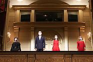 091820 Spanish Royals opening of Royal theater season 20/21