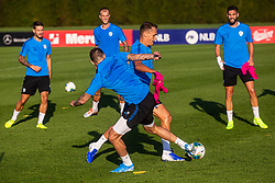 Jure Balkovec during practice session of Slovenian national football team in national football center in Brdo, 2nd of September, 2019, NNC Brdo. Photo by Grega Valancic / Sportida