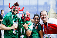 Fans of Mexico before the 2018 FIFA World Cup Russia, Group F football match between Germany and Mexico on June 17, 2018 at Luzhniki Stadium in Moscow, Russia - Photo Thiago Bernardes / FramePhoto / ProSportsImages / DPPI