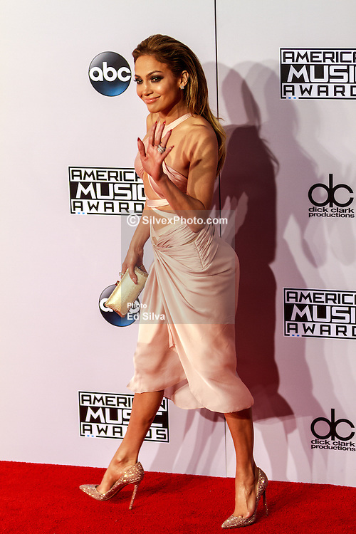LOS ANGELES, CA - NOV 23 Jennifer Lopez attends the 42nd Annual American Music Awards at the Nokia Theatre L.A. in Los Angeles, California USA. 2014 Nov 23. Byline, credit, TV usage, web usage or linkback must read SILVEXPHOTO.COM. Failure to byline correctly will incur double the agreed fee. Tel: +1 714 504 6870.