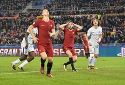October 31, 2017 - Rome, Italy - Kostas Manolas during the Champions League football match A.S. Roma vs Chelsea Football Club at the Olympic Stadium in Rome, on october 31, 2017. (Credit Image: © Silvia Lore/NurPhoto via ZUMA Press)