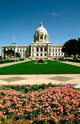 Minnesota:  Minneapolis- St. Paul. .State Capitol Building in St. Paul..Photo copyright Lee Foster, Photo #: mnaqua104, www.fostertravel.com, 510/549-2202, lee@fostertravel.com.