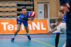 Luke Herr #2 of Lycurgus in action during the supercup final between Amysoft Lycurgus - Active Living Orion on October 04, 2020 in Van der Knaaphal, Ede