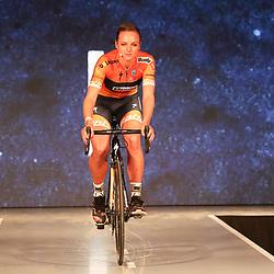 19-01-2017: Wielrennen: Persmoment Boels Dolmans: Valkenburg   <br />VALKENBURG (NED) wielrennen<br />In Chateau Sint Gerlach waar de groten der aarde overnachten presenteerde het Boels-Dolmans Womens Cyclingteam zich aan pers en genodigden. Chantal Blaak