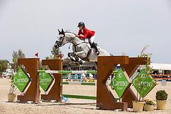 Bomere Estee, BEL, History van t Ameldonk Z,<br /> FEI Jumping European Championships for Young Riders, Juniors, Children - Vilamoura 2021<br /> © Hippo Foto - Leanjo de Koster<br /> 21/07/2021