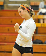Midview at Elyria Catholic JV volleyball on August 30, 2011.