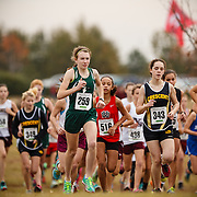 Images from the 2014 South Carolina Cross Country State Championships at the Sandhills Research Center near Columbia, South Carolina.