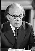 1973 - Erskine Childers Press Conference.  (F16).
